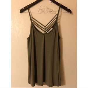 Express Olive Top